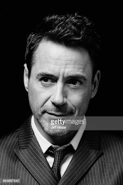 Actor Robert Downey Jr is photographed for a Portrait Session at the 2014 Toronto Film Festival on September 5 2014 in Toronto Ontario