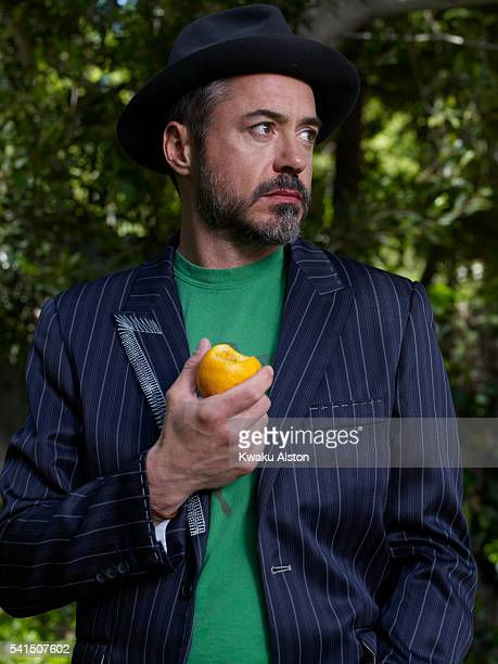 Actor Robert Downey Jr is photographed for Time Magazine in 2008