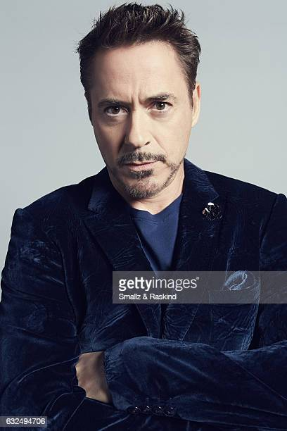 Actor Robert Downey Jr poses for a portrait at the 2017 People's Choice Awards at the Microsoft Theater on January 18 2017 in Los Angeles California