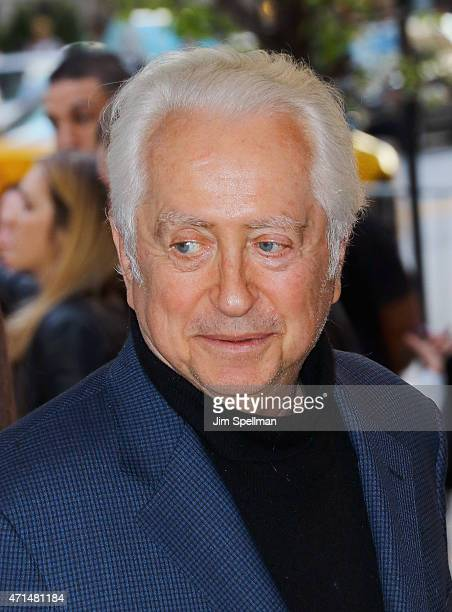 Actor Robert Downey Sr attends The Cinema Society Audi host a screening of Marvel's Avengers Age of Ultron at the SVA Theater on April 28 2015 in New...