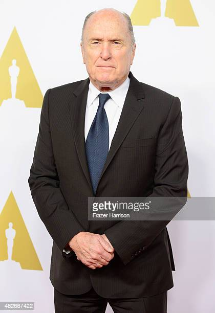 Actor Robert Duvall attends the 87th Annual Academy Awards Nominee Luncheon at The Beverly Hilton Hotel on February 2 2015 in Beverly Hills California