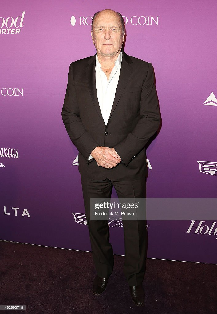 Actor Robert Duvall attends The Hollywood Reporter's Annual Oscar Nominees Night Party at Spago on February 2, 2015 in Beverly Hills, California.