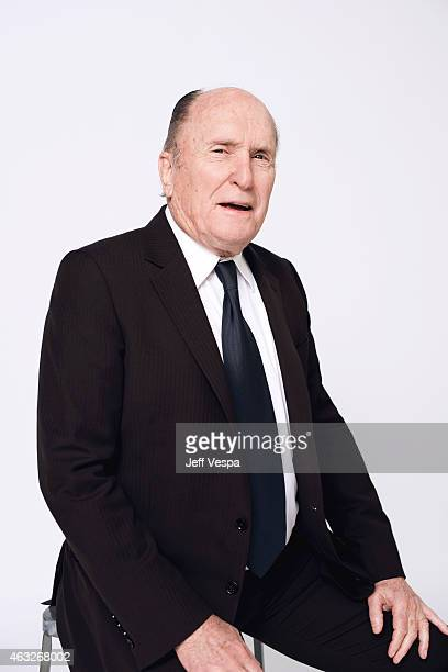 Actor Robert Duvall poses for a portraits at the 87th Academy Awards Nominee Luncheon at the Beverly Hilton Hotel on February 2 2015 in Beverly Hills...