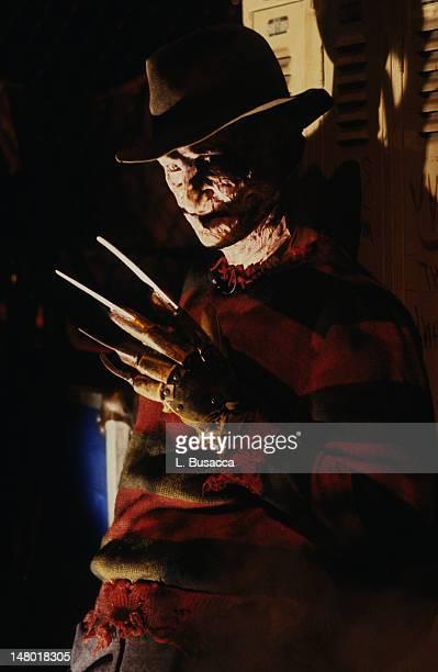 Actor Robert Englund poses as Freddy Krueger circa 1986 in New York City