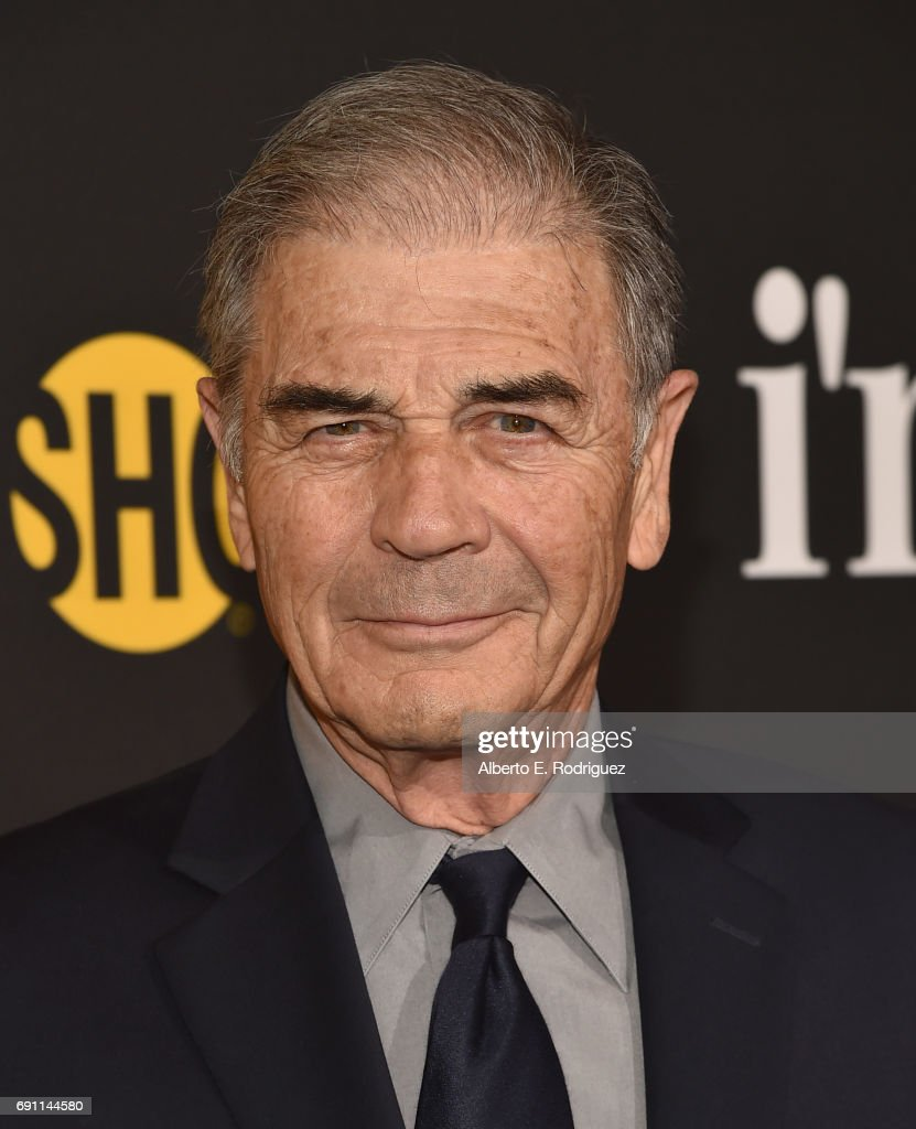 Actor Robert Forster attends the premiere of Showtime's 'I'm Dying Up Here' at the DGA Theater on May 31, 2017 in Los Angeles, California.