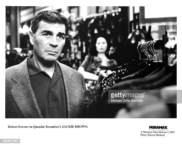 Actor Robert Forster in a scene from the Miramax movie Jackie Brown circa 1997