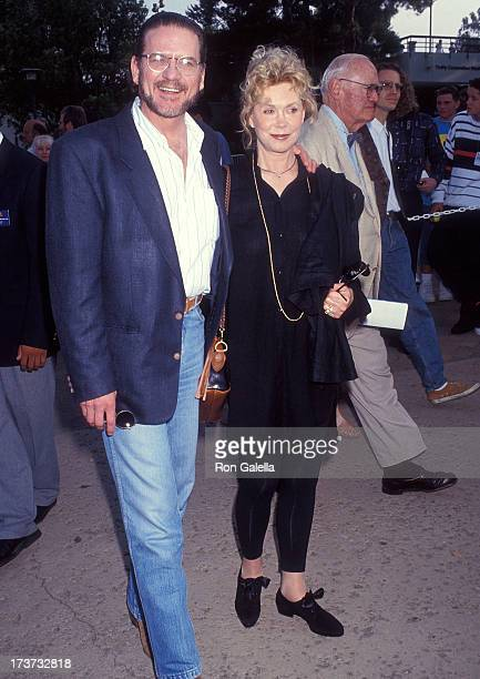 Actor Robert Foxworth and actress Elizabeth Montgomery attend 'An Evening at the Net' Benefit for Revlon/UCLA Women's Cancer Research Program to...