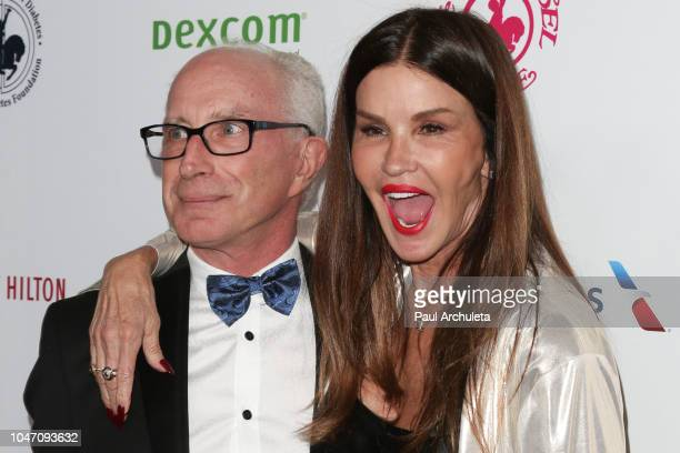 Actor Robert Gerner and TV Personality Janice Dickinson attends the 2018 Carousel Of Hope Ball at The Beverly Hilton Hotel on October 6 2018 in...