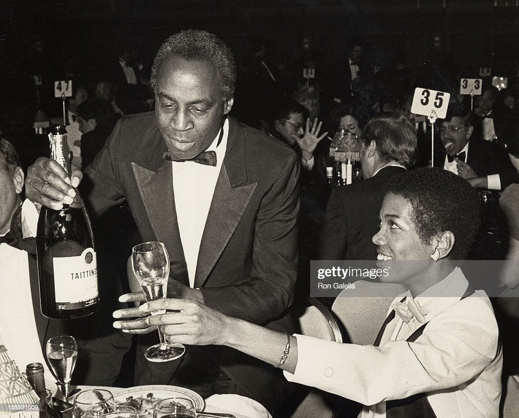 Actor Robert Guillaume and wife Donna Brown attend 38th Annual Tony Awards on June 3, 1984 at the Waldorf Hotel in New York City.
