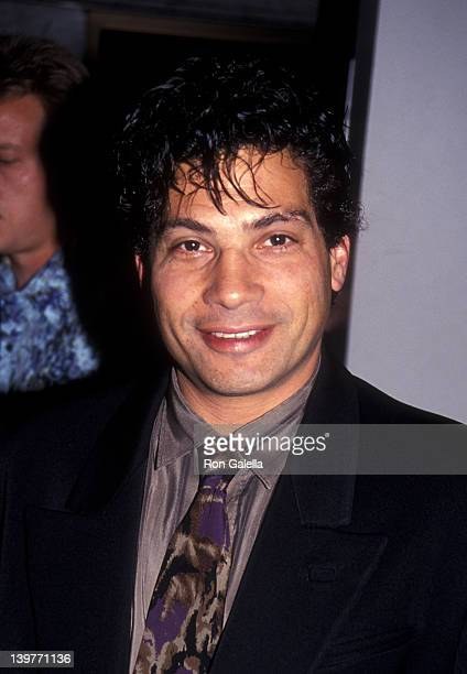 Actor Robert Hegyes attends Women Helping Women Benefit on May 20 1991 at the Los Angeles Theater Center in Los Angeles California