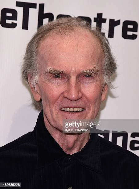 Actor Robert Hogan attends 'The Liquid Plane' Opening Night Party at Signature Theatre Company's The Pershing Square Signature Center on March 8 2015...