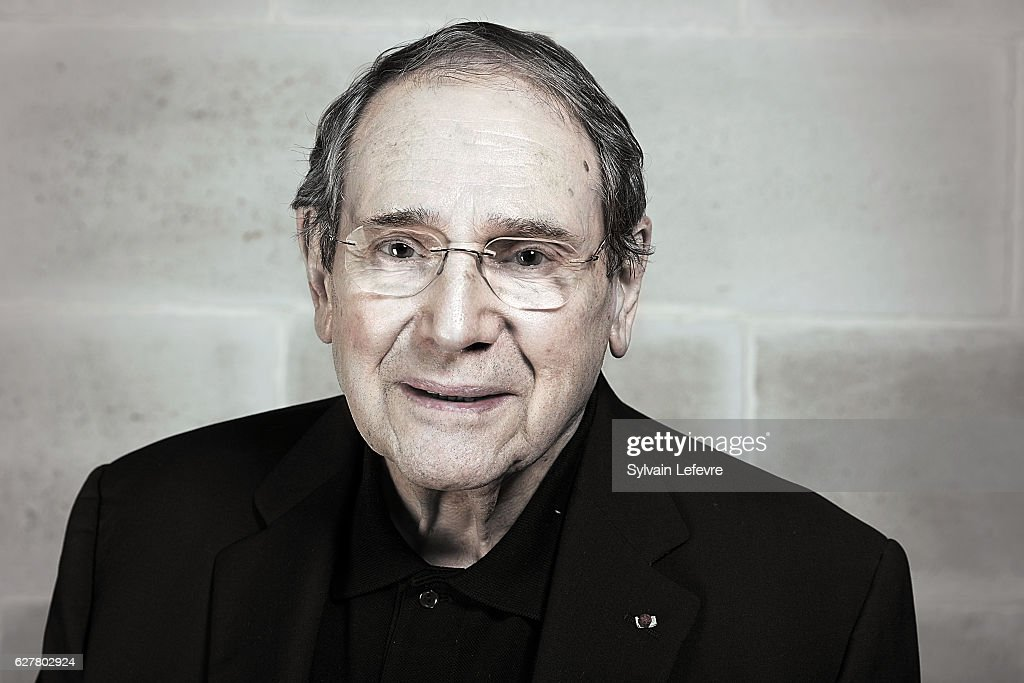 Actor Robert Hossein is photographed for Self Assignment on November 26, 2016 in Honfleur, France.