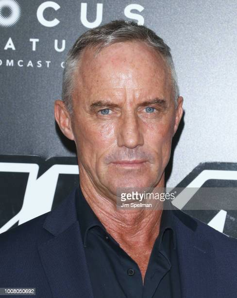 Actor Robert J Burke attends the 'BlacKkKlansman' New York premiere at Brooklyn Academy of Music on July 30 2018 in New York City