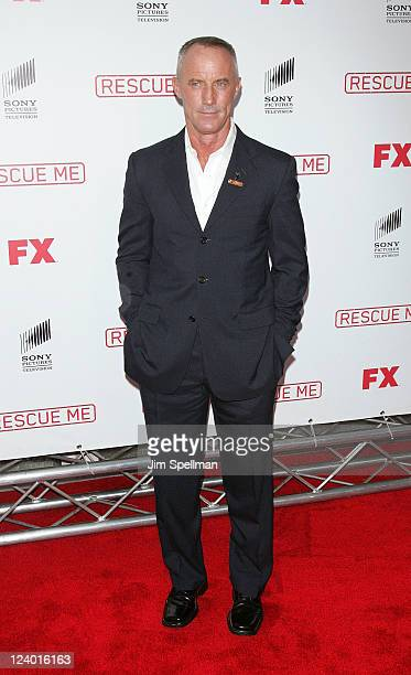 Actor Robert John Burke attends the Rescue Me Season 7 series finale episode screening at the Ziegfeld Theatre on September 7 2011 in New York City