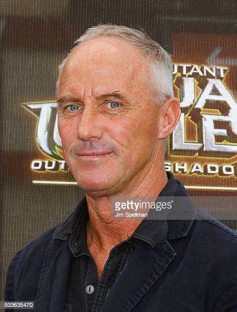 Actor Robert John Burke attends the Teenage Mutant Ninja Turtles Out Of The Shadows world premiere at Madison Square Garden on May 22 2016 in New...