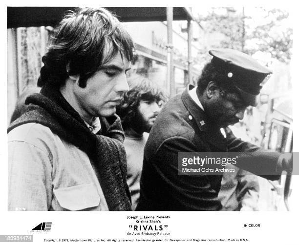 """Actor Robert Klein on set of the movie """"Rivals"""" in 1972."""