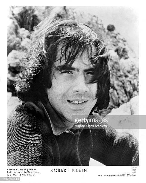 Actor Robert Klein poses for a portrait in circa 1970.