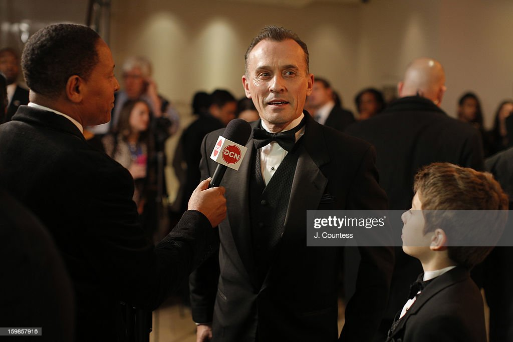 Actor Robert Knepper and Benjamin Knepper attend The Creative Coalition's 2013 Inaugural Ball at the Harman Center for the Arts on January 21, 2013 in Washington, United States.