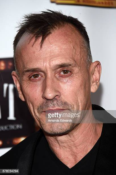 Actor Robert Knepper arrives at the opening of 'Cabaret' at the Hollywood Pantages Theatre on July 20 2016 in Hollywood California