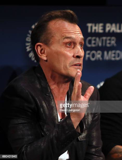 Actor Robert Knepper attends 2017 PaleyLive LA Spring Season 'Prison Break' screening and conversation at The Paley Center for Media on March 29 2017...