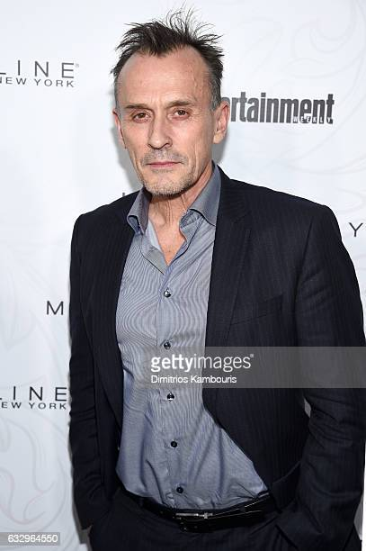 Actor Robert Knepper attends the Entertainment Weekly Celebration of SAG Award Nominees sponsored by Maybelline New York at Chateau Marmont on...