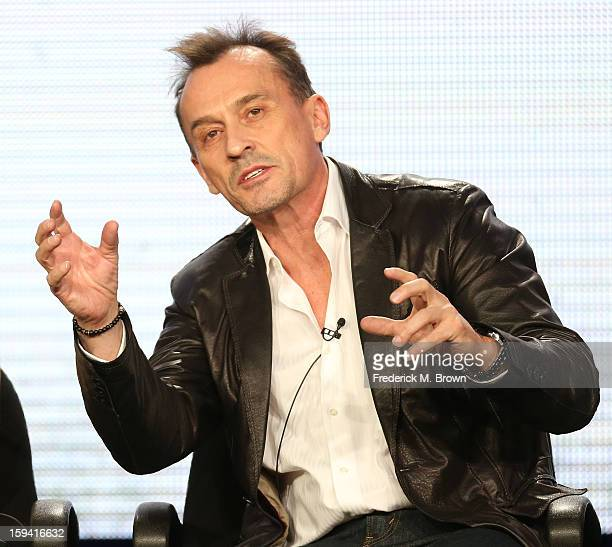 Actor Robert Knepper of the television show 'Cult' speaks during the CW Network portion of the 2013 Winter Television Critics Association Press Tour...