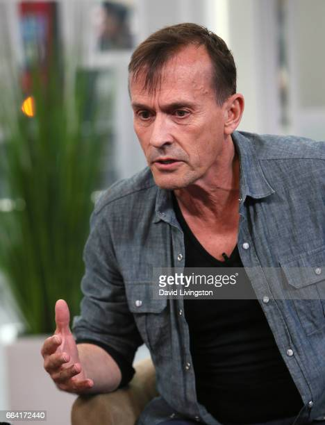 Actor Robert Knepper visits Hollywood Today Live at W Hollywood on April 3 2017 in Hollywood California