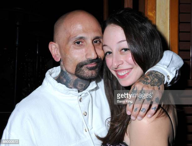 Actor Robert LaSardo and Danielle Kasen arrive at Venice Magazine's Venice Night at the Pantages Theatre showing of Dirty Dancing at the Pantages...