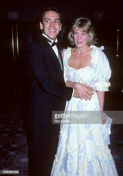 Actor Robert Lindsay and actress Diana Weston attend the Me and My Girl Broadway Musical Opening Night Party on August 10 1986 at the Marriott...