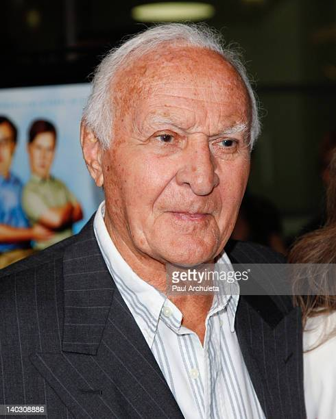 Actor Robert Loggia attends the 'Tim Eric'$ Billion Dollar Movie' Los Angeles premiere at the ArcLight Hollywood on March 1 2012 in Hollywood...