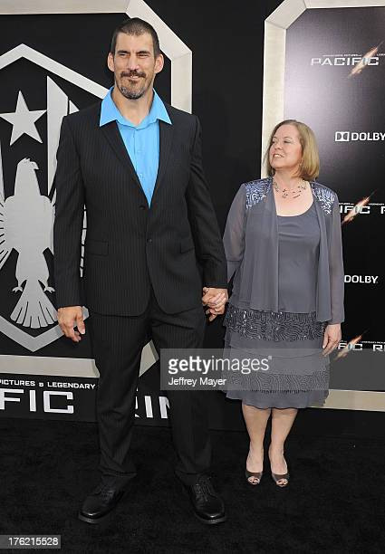 Actor Robert Maillet arrives at the 'Pacific Rim' Los Angeles Premiere at Dolby Theatre on July 9 2013 in Hollywood California