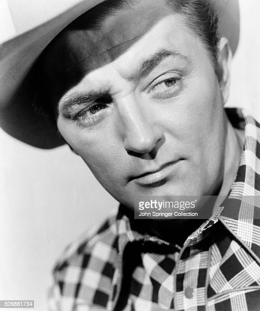 Actor Robert Mitchum