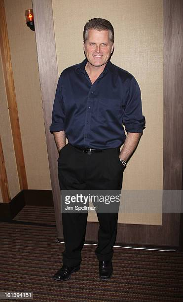 Actor Robert Newman attends the Spontaneous Construction premiere at Guys American Kitchen Bar on February 10 2013 in New York City