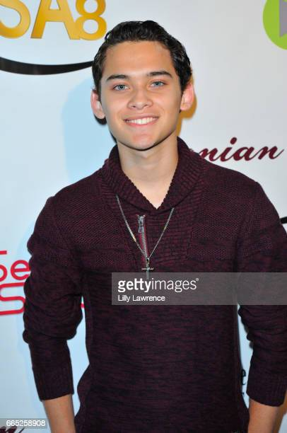 Actor Robert Ochoa arrives at the 8th Annual Indie Series Awards at The Colony Theater on April 5 2017 in Burbank California