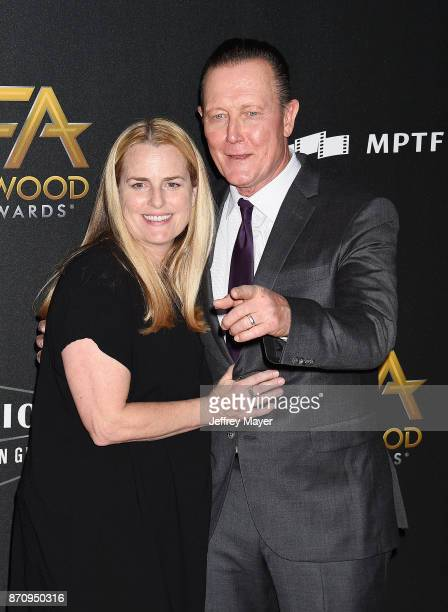 Actor Robert Patrick and wife Barbara Patrick attend the 21st Annual Hollywood Film Awards at The Beverly Hilton Hotel on November 5, 2017 in Beverly...