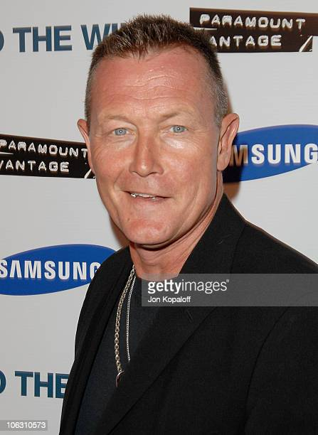 Actor Robert Patrick arrives at the Los Angeles Premiere Into The Wild at the Directors Guild of America on September 18 2007 in West Hollywood...