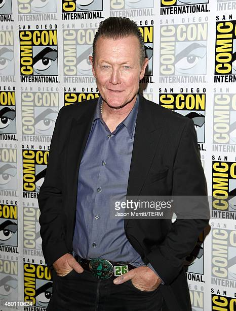 Actor Robert Patrick attends the CBS Television Studios press room during Comic-Con International 2015 at the Hilton Bayfront on July 9, 2015 in San...