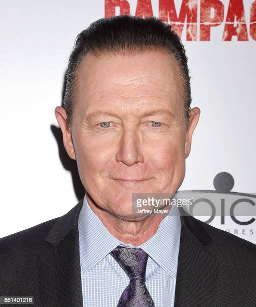 Actor Robert Patrick attends the Premiere Of Epic Pictures Releasings' 'Last Rampage' at ArcLight Cinemas on September 21, 2017 in Hollywood,...