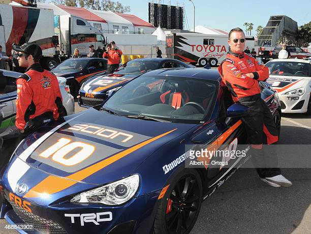 Actor Robert Patrick participates in press day for Pro/Celebrity Race at Toyota Grand Prix of Long Beach on April 7 2015 in Long Beach California