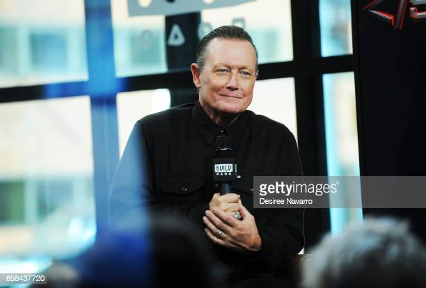 "Actor Robert Patrick visits Build Studio to discuss 'Scorpion' and ""Lore"" on October 6, 2017 in New York City."