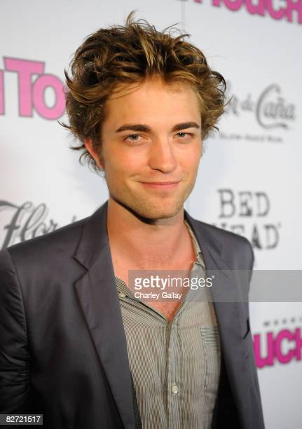 Actor Robert Pattinson arrives at In Touch Weekly's ICONS IDOLS CELEBRATION Good Charlotte Leona Lewis and The Veronicas performed Samantha Ronson...