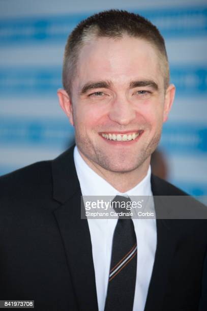 Actor Robert Pattinson arrives at the Achievement Tribute Award Ceremony to Robert Pattinson and 'Good Time' Premiere during the 43rd Deauville...