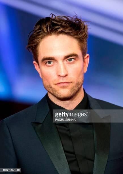 US actor Robert Pattinson arrives at the Marrakech International Film festival on November 30 2018 in the city of Marrakesh
