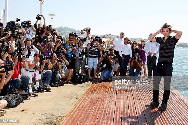Actor Robert Pattinson attends a photo call at the Magestic Pier during the 62nd Annual Cannes Film Festival on May 19 2009 in Cannes France