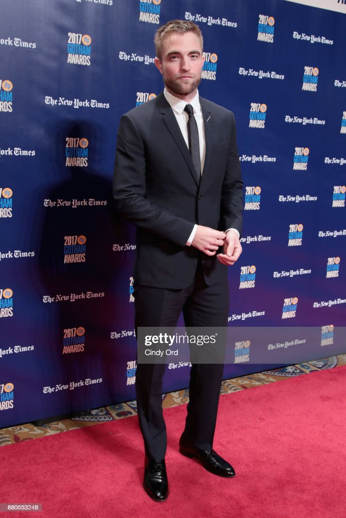 Actor Robert Pattinson attends IFP's 27th Annual Gotham Independent Film Awards on November 27, 2017 in New York City.