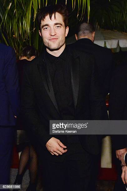 Actor Robert Pattinson attends the 2016 GQ Men of the Year Party at Chateau Marmont on December 8 2016 in Los Angeles California