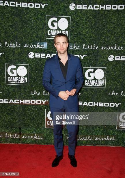 Actor Robert Pattinson attends the 2017 GO Campaign Gala at NeueHouse Los Angeles on November 18 2017 in Hollywood California