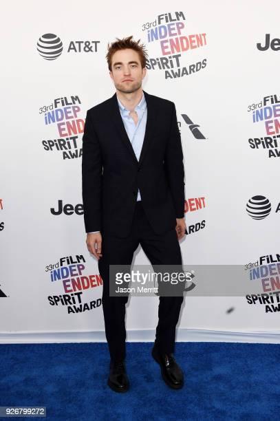 Actor Robert Pattinson attends the 2018 Film Independent Spirit Awards on March 3 2018 in Santa Monica California