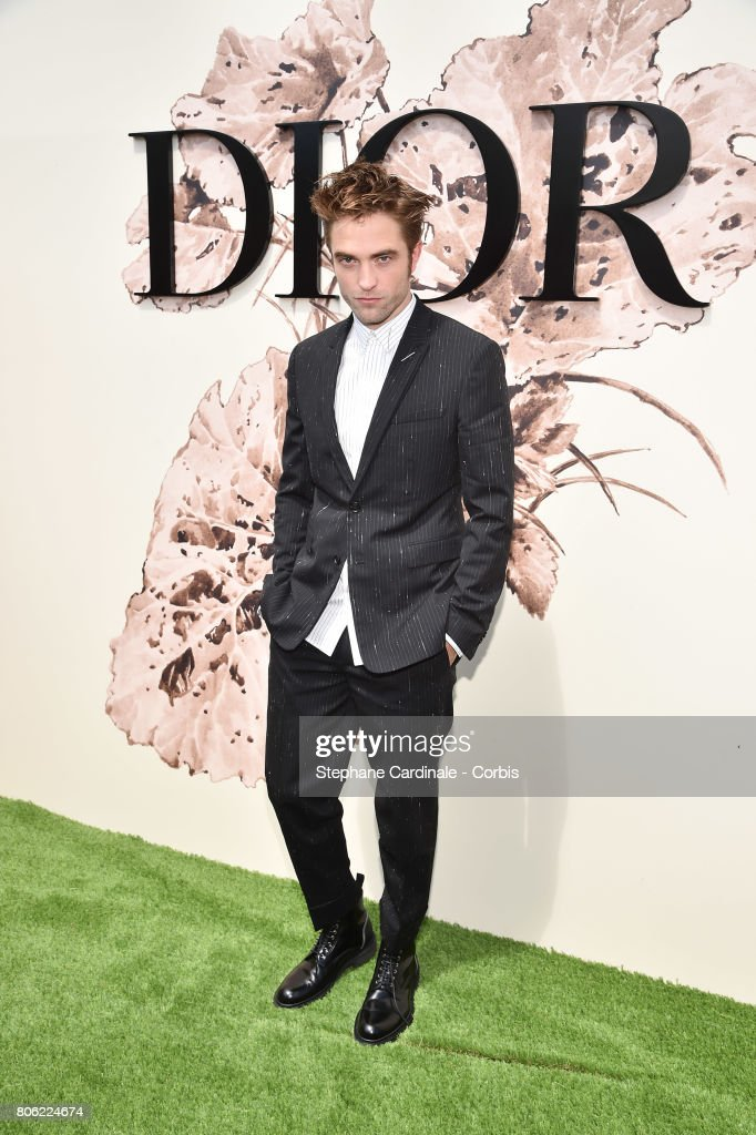 Actor Robert Pattinson attends the Christian Dior Haute Couture Fall/Winter 2017-2018 show as part of Haute Couture Paris Fashion Week on July 3, 2017 in Paris, France.