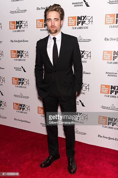 Actor Robert Pattinson attends the Closing Night Screening of 'The Lost City Of Z' for the 54th New York Film Festival at Alice Tully Hall Lincoln...